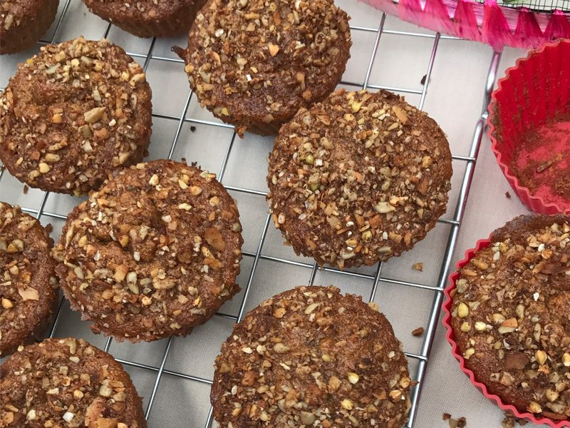 Carrot Crumble Muffins