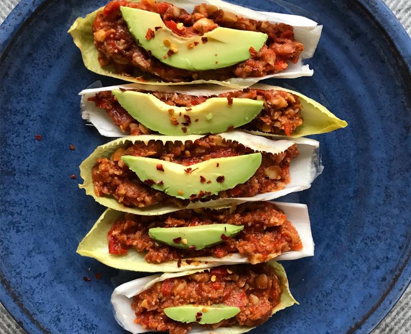 Mexican Lentil Boats