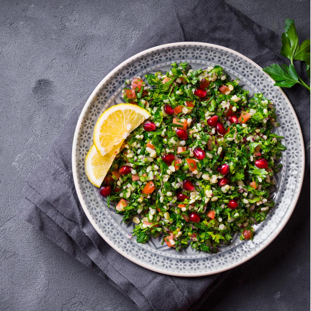Roasted Vegetable Quinoa Tabbouleh