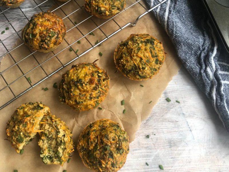 Kale & Sweet Potato Egg Muffins